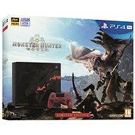 PlayStation 4 Pro 1TB Monster Hunter: World Limited Edition - Herní konzole