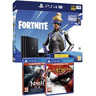 PlayStation 4 Pro 1TB + Fortnite + Nioh + God Of War III - Herní konzole