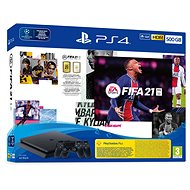 PlayStation 4 Slim 500GB + FIFA 21 + 2x DualShock 4