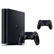 PlayStation 4 Slim 500 GB + 2x DualShock 4 - Herní konzole