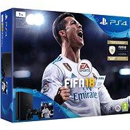 PlayStation 4 1TB Slim + FIFA 18 - Herní konzole