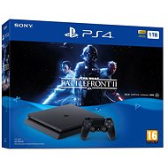 PlayStation 4 1TB Slim Star Wars Battlefront II - Herní konzole