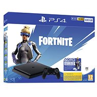 PlayStation 4 500GB + Fortnite - Herní konzole