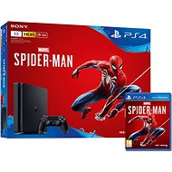 PlayStation 4 1TB Slim + Spider-Man - Herní konzole