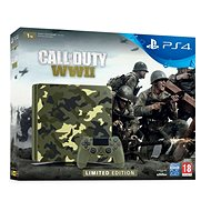 PlayStation 4 1TB Slim - Call of Duty: WWII Limited Edition - Herní konzole