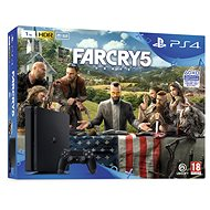 PlayStation 4 1TB Slim + Far Cry 5 - Herní konzole