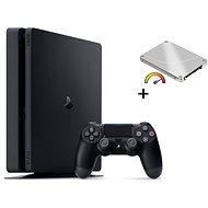 Výkonný PlayStation 4 Slim 960GB SSD + 500GB HDD externí - Herní konzole
