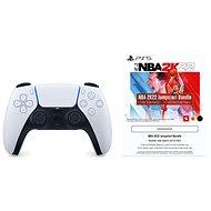 PlayStation 5 DualSense Wireless Controller + 2500 MyTeam Points NBA 2K22 - Gamepad
