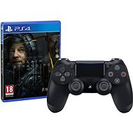 Sony PS4 Dualshock 4 V2 - Black + Death Stranding