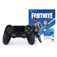 Sony PS4 Dualshock 4 V2 - Black + Fortnite Neo Versa Bundle - Gamepad