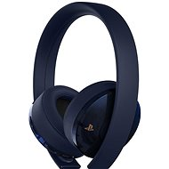 Sony PS4 Gold/Navy Blue Wireless Headset - 500M Limited Edition - Herní sluchátka