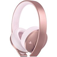 Sony PS4 Gold Wireless Headset Rose - Herní sluchátka