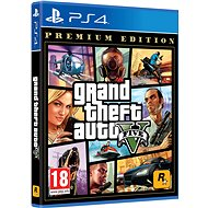 Grand Theft Auto V Premium Edition - PS4 - Console Game