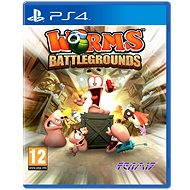 Worms Battlegrounds - PS4 - Hra na konzoli