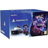 PlayStation VR pro PS4 + hra VR Worlds + PS4 Kamera - Brýle pro virtuální realitu