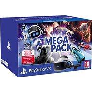 PlayStation VR Mega Pack pro PS4 (PS VR + Kamera + 5 her) - Brýle pro virtuální realitu