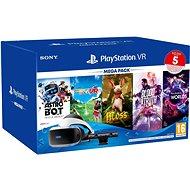 PlayStation VR Mega Pack 3 (PS VR + Kamera + 5 her + PS5 adaptér) - Brýle pro virtuální realitu