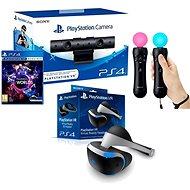 PlayStation VR pro PS4 + hra VR Worlds + PS4 kamera + PS MOVE Twin Pack - Brýle pro virtuální realitu