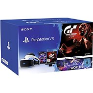 PlayStation VR pro PS4 + VR Worlds + GT Sport + PS4 Kamera - Brýle pro virtuální realitu
