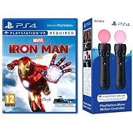 Marvels Iron Man VR - PS4 + 2x ovladač PS Move - Hra na konzoli