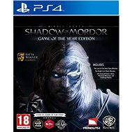 Middle Earth: Shadow of Mordor Game of The Year Edition - PS4 - Hra pro konzoli