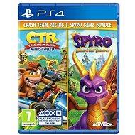 Crash Team Racing Nitro Fueled and Spyro Reignited Trilogy Bundle - PS4