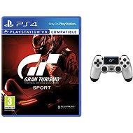 Gran Turismo Sport + DS4 ovladač GT Sport - Hra pro konzoli