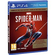 Marvels Spider-Man GOTY - PS4 - Hra na konzoli