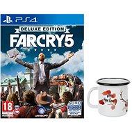 Far Cry 5 Deluxe Edition + Originální Hrnek- PS4 - Hra pro konzoli