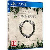The Elder Scrolls Online: Summerset Collectors Edition - PS4 - Hra pro konzoli