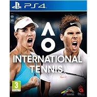 AO International Tennis - PS4 - Hra pro konzoli