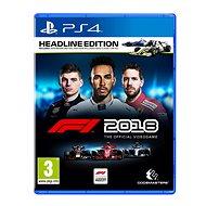 F1 2018 - Headline Edition - PS4 - Hra pro konzoli
