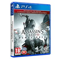 Assassins Creed 3 + Liberation Remaster - PS4 - Hra pro konzoli