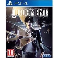 Judgment - PS4 - Hra pro konzoli