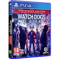 Watch Dogs Legion Resistance Edition - PS4 - Hra na konzoli
