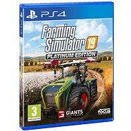 Farming Simulator 19 Platinum Edition - PS4 - Hra pro konzoli