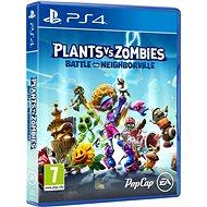 Plants vs Zombies: Battle for Neighborville - PS4 - Hra na konzoli