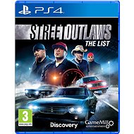 Street Outlaws: The List - PS4 - Hra pro konzoli
