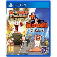 Worms Battlegrounds + Worms WMD Double Pack - PS4 - Hra na konzoli