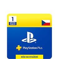 PlayStation Plus 1 měsíční členství - CZ Digital - Dobíjecí karta