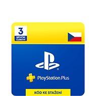 PlayStation Plus 3 měsíční členství - CZ Digital - Dobíjecí karta