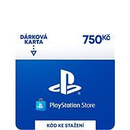 PlayStation Store - Kredit 750 Kč - CZ Digital - Dobíjecí karta
