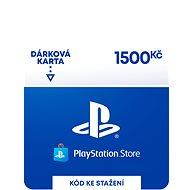 PlayStation Store - Kredit 1500 Kč - CZ Digital - Dobíjecí karta