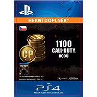 1.000 (+100 Bonus) Call of Duty Points - PS4 CZ Digital - Herní doplněk