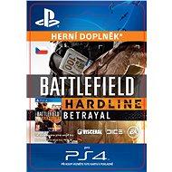 Battlefield Hardline Betrayal - PS4 CZ Digital - Herní doplněk
