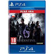 Resident Evil 6 - PS4 CZ Digital - Hra pro konzoli