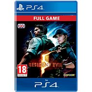 RESIDENT EVIL 5 - PS4 CZ Digital - Hra pro konzoli