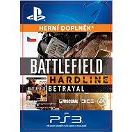 Battlefield Hardline Betrayal - PS3 CZ Digital - Herní doplněk
