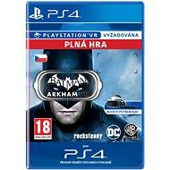 Batman: Arkham VR - PS4 CZ Digital - Hra pro konzoli