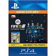 500 FIFA 17 Points Pack - PS4 CZ Digital - Herní doplněk